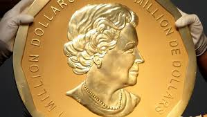 Million dollar coin