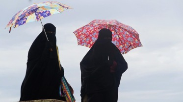Burka umbrellas