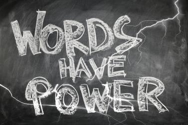Energy Force Persuasiveness Board Words Blackboard