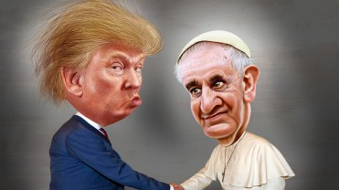 Trump and Pope