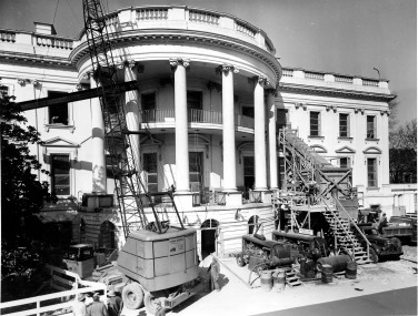 White House debris