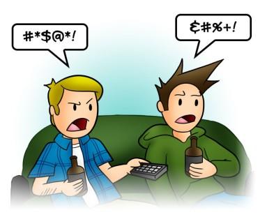 Swearing Jay_&_Trey