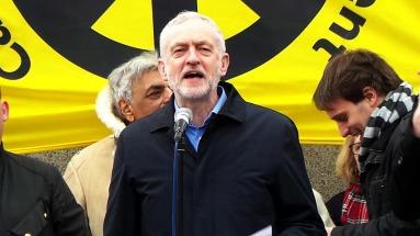 Jeremy Corbyn CND Demo
