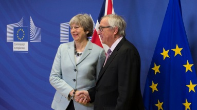 Theresa May Juncker 38875903892_9eac92f7a9_b