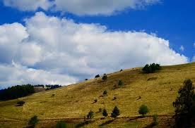 Sledging hill